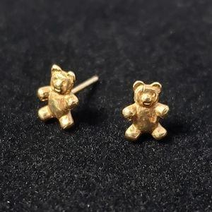 🧸 James Avery 14k Gold Teddy Bear Retired